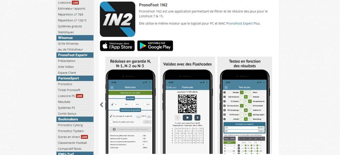 Pronosoft apk Android
