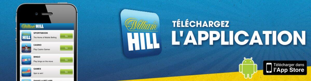 William hill apk pour accéder sur android et iOS